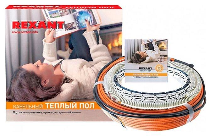 Электрический теплый пол REXANT RND-20-300 300Вт