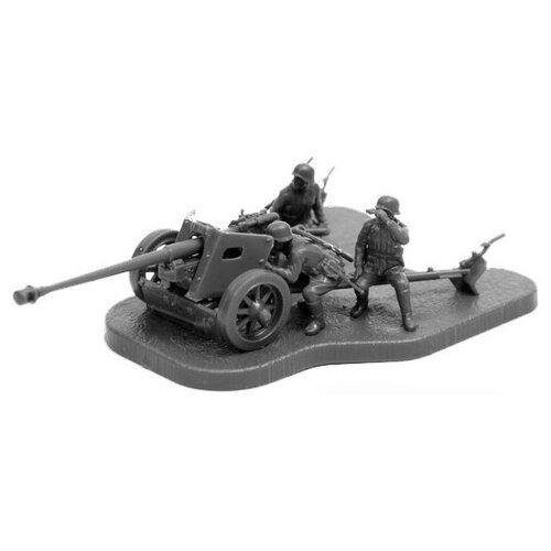 Фото - Сборная модель ZVEZDA Немецкая противотанковая пушка ПАК-40 с расчётом (6257) 1:72 сборная модель zvezda немецкая пехота в зимней форме 1941 1945 6198 1 72