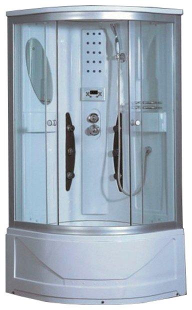 Душевая кабина Saniteco SN-S3-90SX высокий поддон 90см*90см