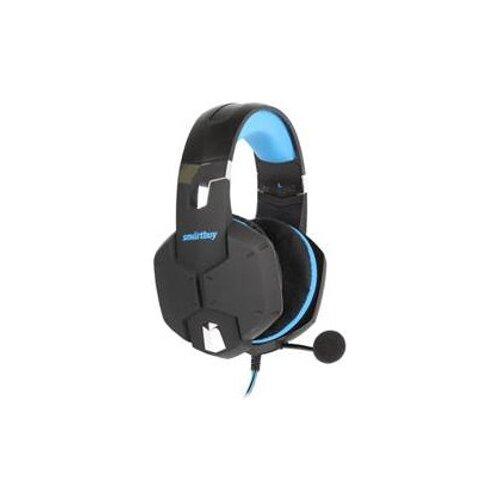 Компьютерная гарнитура SmartBuy Viper черный/синий гарнитура