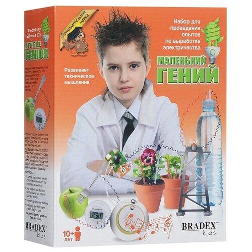 bradex набор bradex маленький гений для проведения опытов по выработке электричества Набор BRADEX Занимательная наука. Маленький гений. Выработка электричества