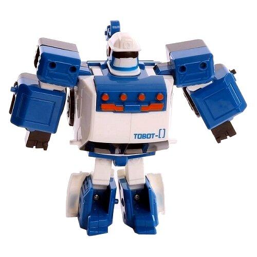цена на Трансформер YOUNG TOYS Tobot Mini Zero 301029 белый/синий