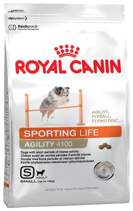 Корм для собак Royal Canin Agility 4100 для активных животных (для мелких пород)