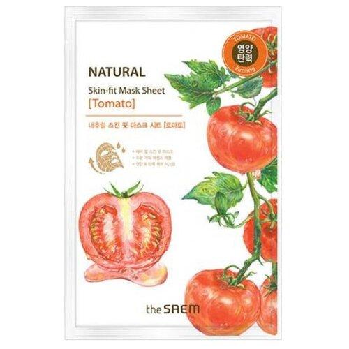 The Saem тканевая маска Natural Skin Fit Tomato, 20 млМаски<br>