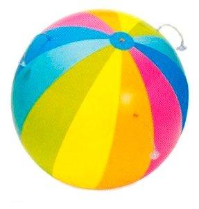 Мяч надувной Intex Джумбо с брызгалкой 58072