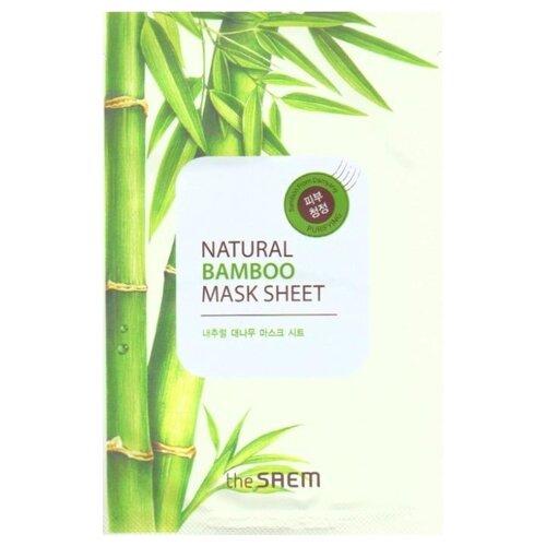 The Saem тканевая маска Natural Bamboo, 21 млМаски<br>