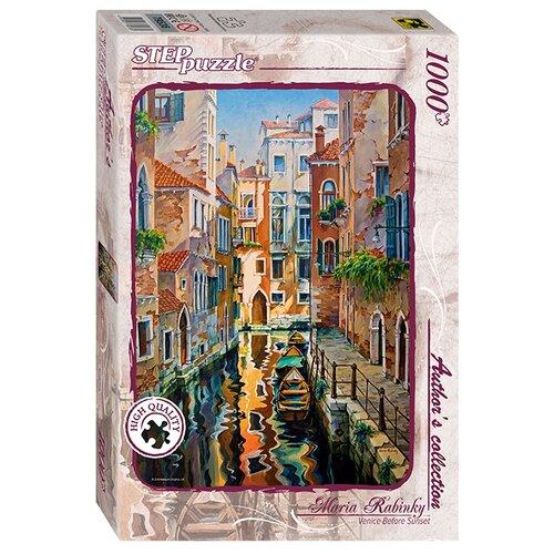 Купить Пазл Step puzzle Авторская коллекция Солнечная аллея в Венеции (79536), элементов: 1000 шт., Пазлы