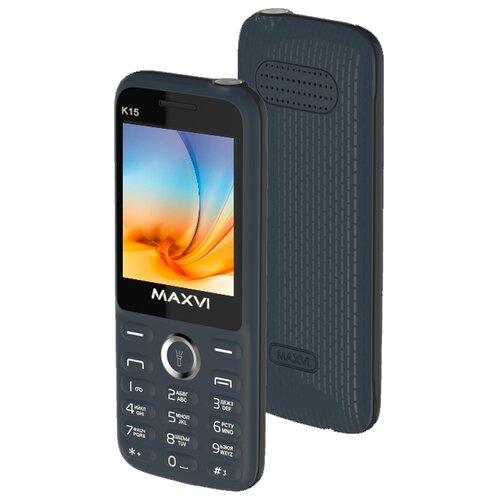 Купить Телефон MAXVI K15 синий