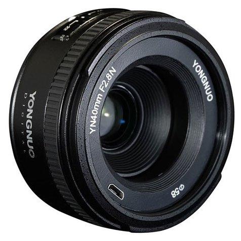 YongNuo 40mm f/2.8 Nikon F