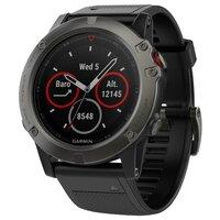 Умные часы Garmin Fenix 5X Sapphire (silicone) - фото 1