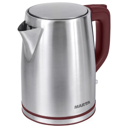 Чайник MARTA MT-1092, красный гранат