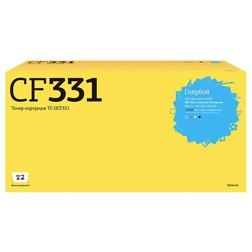 Фото - Картридж T2 TC-HCF331, совместимый картридж t2 tc k170 совместимый