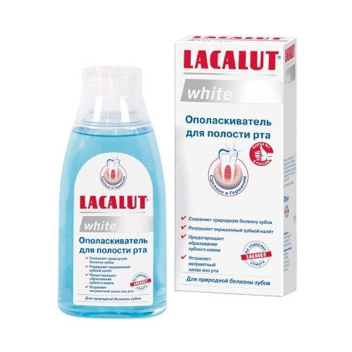 Lacalut ополаскиватель White 300 млПолоскание и уход за полостью рта<br>