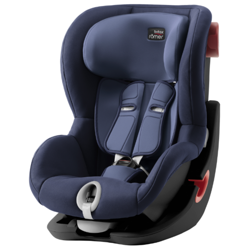Автокресло группа 1 (9-18 кг) BRITAX ROMER King II, Moonlight Blue black series автокресло britax romer king ii black series wine rose trendline