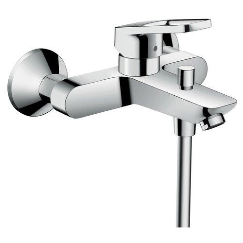 Фото - Смеситель для ванны с подключением душа hansgrohe Logis Loop 71244000 однорычажный смеситель для биде hansgrohe logis loop 71250000