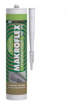 Монтажный клей Makroflex MF170 турбобыстрый (400 г)
