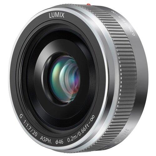 Объектив Panasonic 20mm f/1.7 II Aspherical (H-H020AE) серебристый