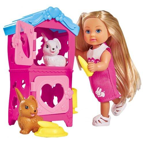 Купить Кукла Simba Еви с кроликами, 12 см, 5733065, Куклы и пупсы