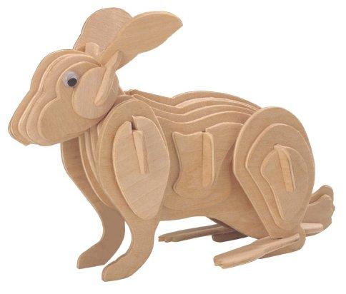 Сборная модель Чудо-Дерево Кролик (M004),,