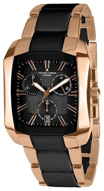 Мужские часы Jacques Lemans 1-1743C Женские часы Guess W0884L2