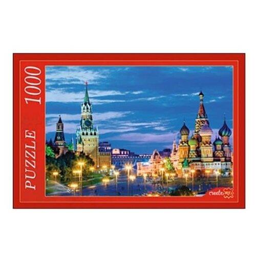 Фото - Пазл Рыжий кот Вечерний Кремль (КБ1000-6858), 1000 дет. вечерний кот