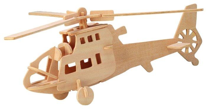 Сборная модель Чудо-Дерево Боевой вертолёт (P007),,