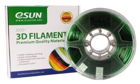 PETG пруток ESUN 1.75 мм зеленый 1 кг фото 1