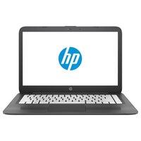 "Ноубук HP Stream 14-ax014ur (Intel Celeron N3060 1600 MHz/14""/1366x768/2Gb/32Gb eMMC/DVD нет/Intel HD Graphics 400/Wi-Fi/Bluetooth/Windows 10 Home)"