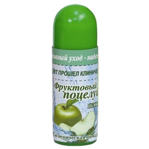 Фруктовый поцелуй Гигиеническая помада Яблоко недорого