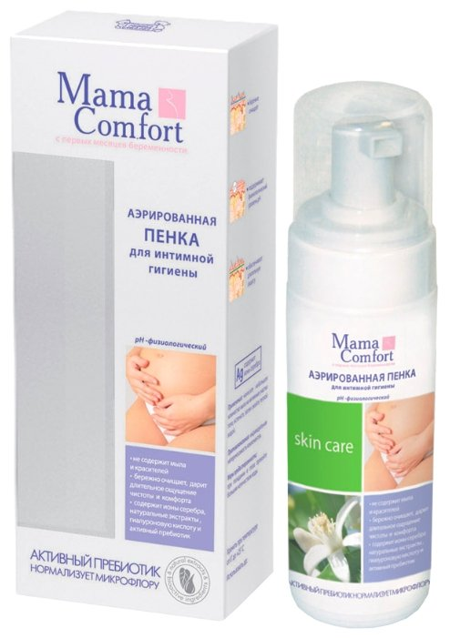 Mama Comfort Аэрированная пенка для интимной гигиены