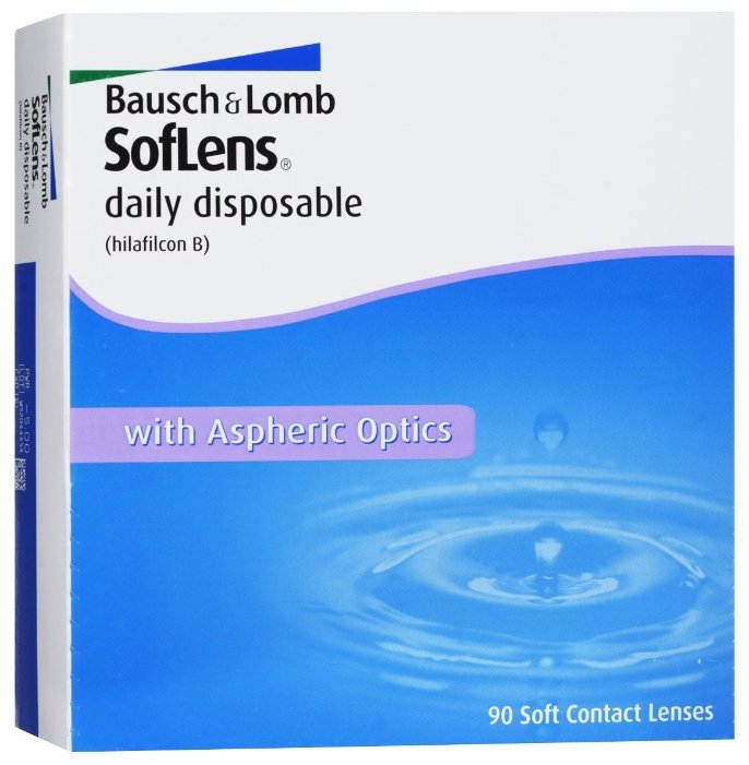 Bausch & Lomb Soflens Daily Disposable (90 линз)