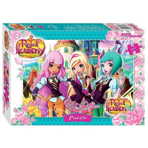 Пазл Step puzzle Rainbow Королевская академия (81167), 60 дет. пазл step puzzle park