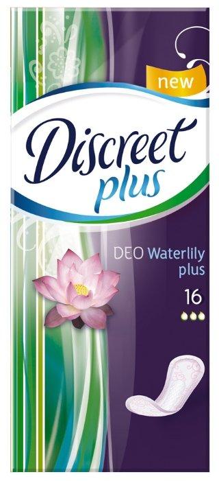 Discreet прокладки ежедневные Deo Water Lily Plus
