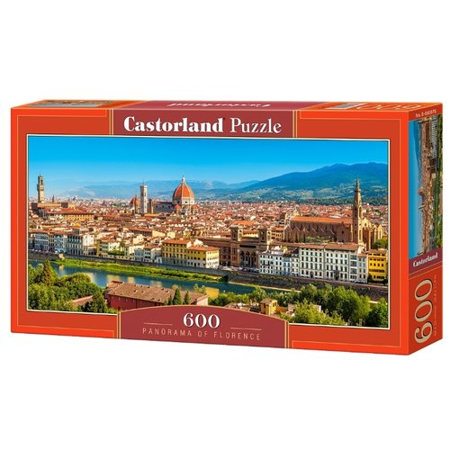 Купить Пазл Castorland Panorama of Florence (B-060078), 600 дет., Пазлы