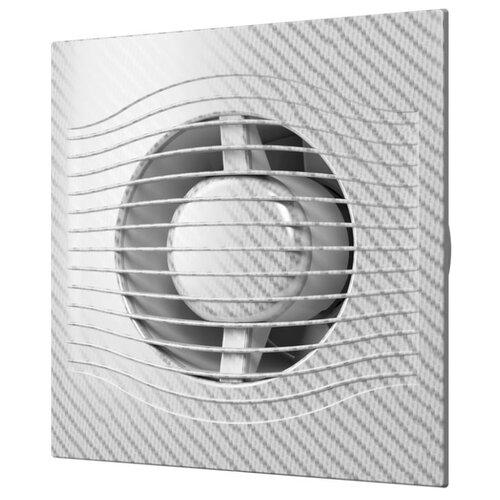 Вытяжной вентилятор DiCiTi SLIM 4C, white carbon 7.8 ВтВентиляторы вытяжные<br>