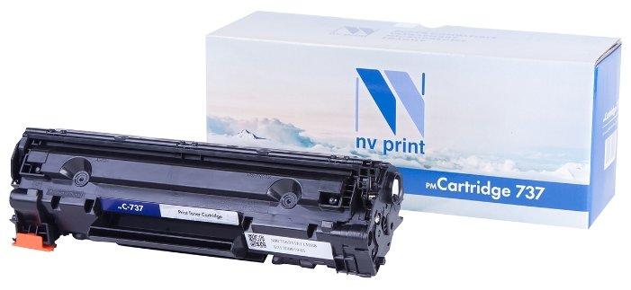 Картридж NV Print 737 для Canon, совместимый — цены на Яндекс.Маркете