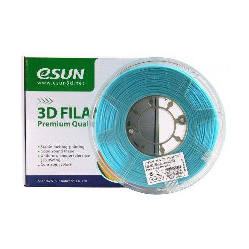 Фото - PLA пруток ESUN 1.75 мм, 1 кг, голубой pla пруток esun 1 75 мм желтый 1 кг