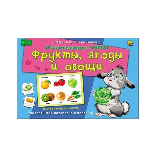 Настольная игра Рыжий кот Фрукты, ягоды и овощи ИН-8142 настольная игра smiledecor сумка игралка овощи фрукты и ягоды
