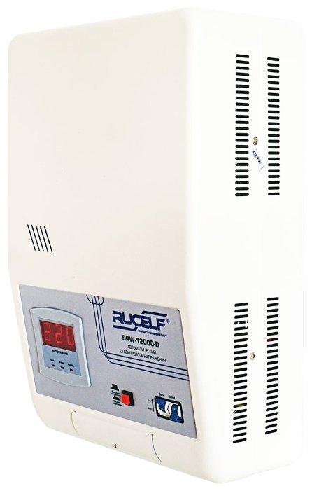 Стабилизатор напряжения однофазный RUCELF SRW-12000-D
