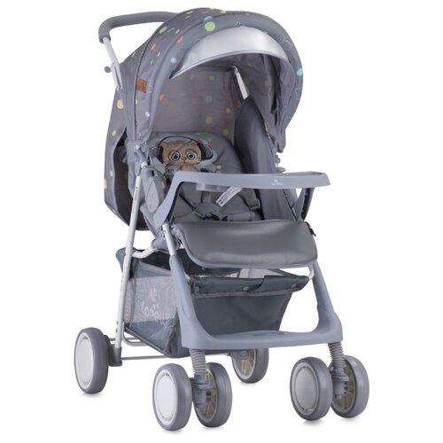 Купить Прогулочная коляска Lorelli Terra (с накидкой) grey cute kitten, Коляски