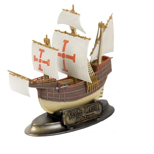 Купить Сборная модель ZVEZDA Флагманский корабль Христофора Колумба Санта-Мария (6510) 1:350, Сборные модели