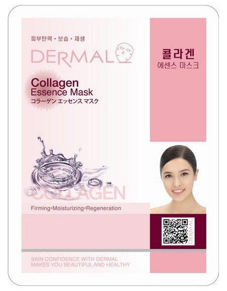 DERMAL Collagen Essence Mask тканевая маска с максимальной концентрацией коллагена