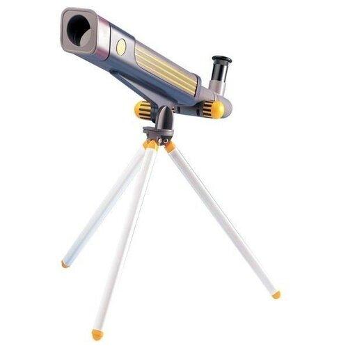 Купить Телескоп Edu Toys TS302 серый/желтый, Детские микроскопы и телескопы