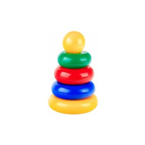 Пирамидка Строим вместе счастливое детство маленькая (шар маленький)