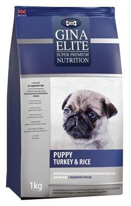 Корм для собак Gina Elite Puppy Turkey & Rice