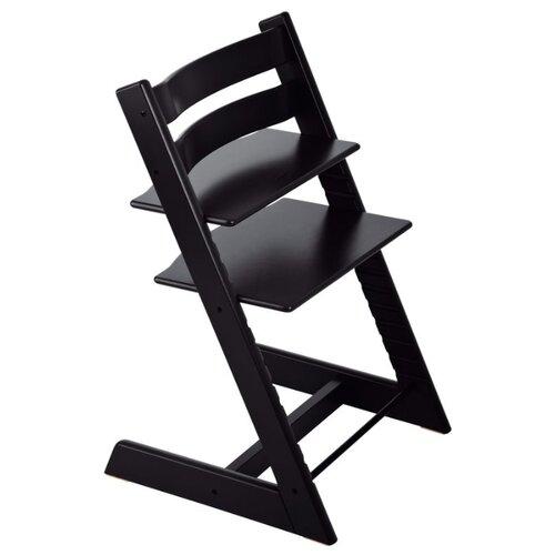 Купить Растущий стульчик Stokke Tripp Trapp из бука, черный, Стульчики для кормления