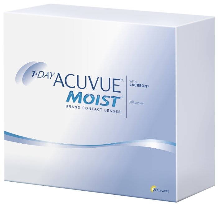 Acuvue 1-Day Moist (180 линз)