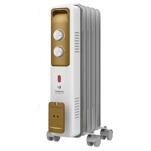 цена на Масляный радиатор Timberk TOR 21.1005 BCX белый