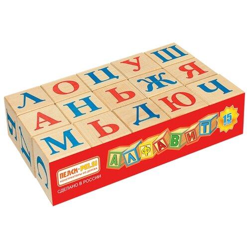Купить Кубики Теремок (Пелси) Алфавит И669, Детские кубики