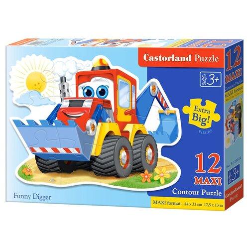 Купить Пазл Castorland Funny Digger (B-120024), 12 дет., Пазлы